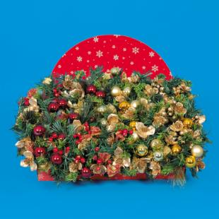 6 in. Decorated Pick with Pine Cones &amp; Berries - 48 Count