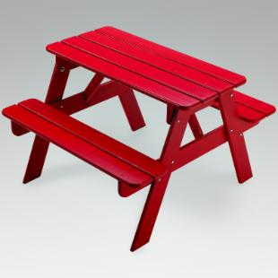 Little Colorado Child&#39;s Sunroom Picnic Table