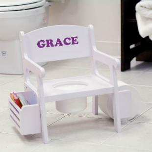 Deluxe Personalized Potty Chair