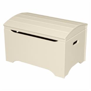 Little Colorado Solid Wood Toy Storage Chest - Linen - No Personalization