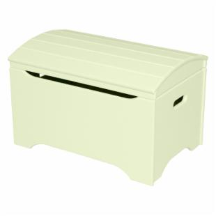 Little Colorado Solid Wood Toy Storage Chest - Pastel Green - No Personalization
