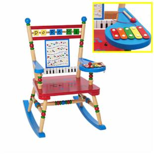 Levels of Discovery Sing a Song Rocking Chair