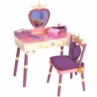Levels of Discovery Royal Princess Girls Bedroom Vanity Set