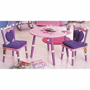 Levels of Discovery Royal Princess Table & Chair Set with Music/Jewelry Box