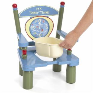 Levels of Discovery It's Potty Time Potty Chair
