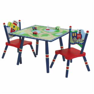 Levels of Discovery Getting Around Table &amp; 2 Chair Set
