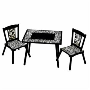 Levels of Discovery Wild Side Table and Chair Set