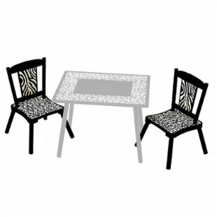 Levels of Discovery Wild Side Chairs -  Set of 2
