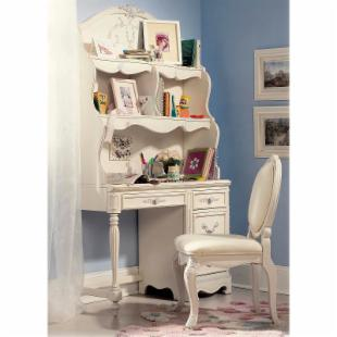 Jessica McClintock Romance Student Desk with Optional Hutch