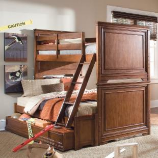 Elite Classics Twin over Full Bunk Bed