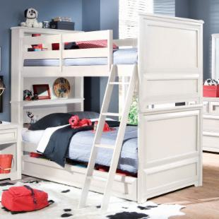 Elite Reflections Twin over Twin Bunk Bed
