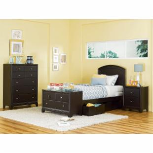 Midtown Panel Platform Bed + Storage Drawers