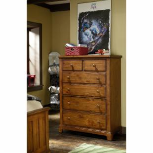 Elite Logan County 5 Drawer Chest