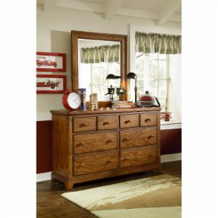 Elite Logan County 6 Drawer Dresser