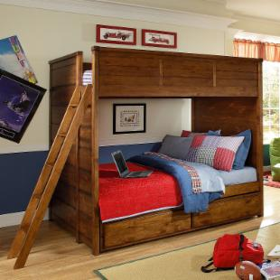 Elite Logan County Full Bunk Bed