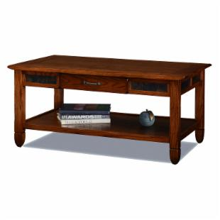 Leick 10904 Slatestone Rustic Oak Coffee Table