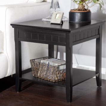  Richland Black End Table