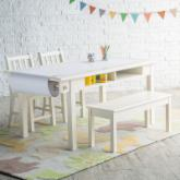  Classic Playtime Vanilla Deluxe Activity Table with Free Paper Roll