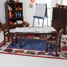  Classic Playtime Espresso Deluxe Activity Table with Free Paper Roll