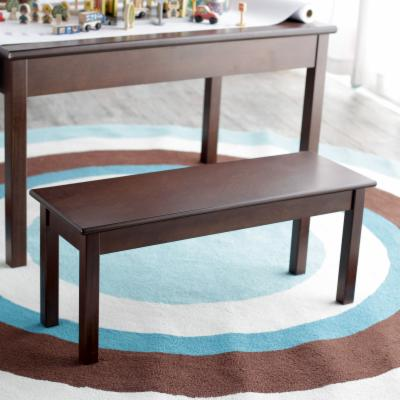 Classic Playtime Bench - Espresso