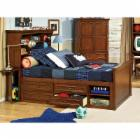 American Spirit Bookcase Captains Bed Collection