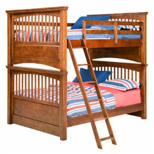 American Spirit II Full over Full Bunk Bed