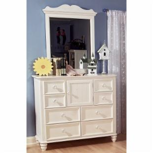 Summer Breeze 8-Drawer 1-Door Dresser