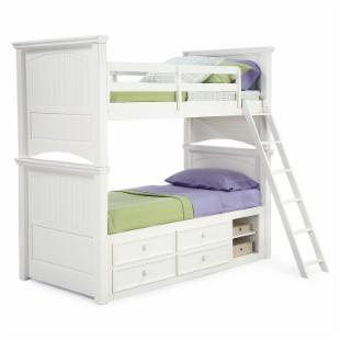Summer Breeze Twin over Twin Bunk Bed