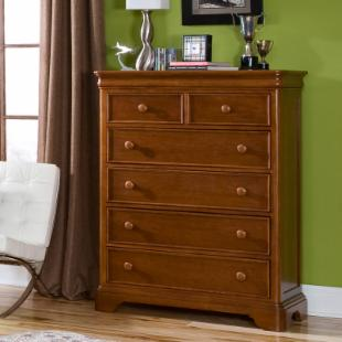 Cinnamon 6 Drawer Chest