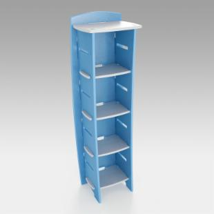 Legare Select 4-Shelf Kids Bookcase