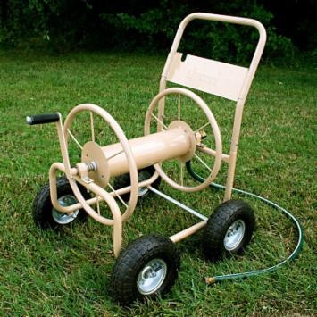 Liberty Garden 4-Wheel Hose Reel Cart