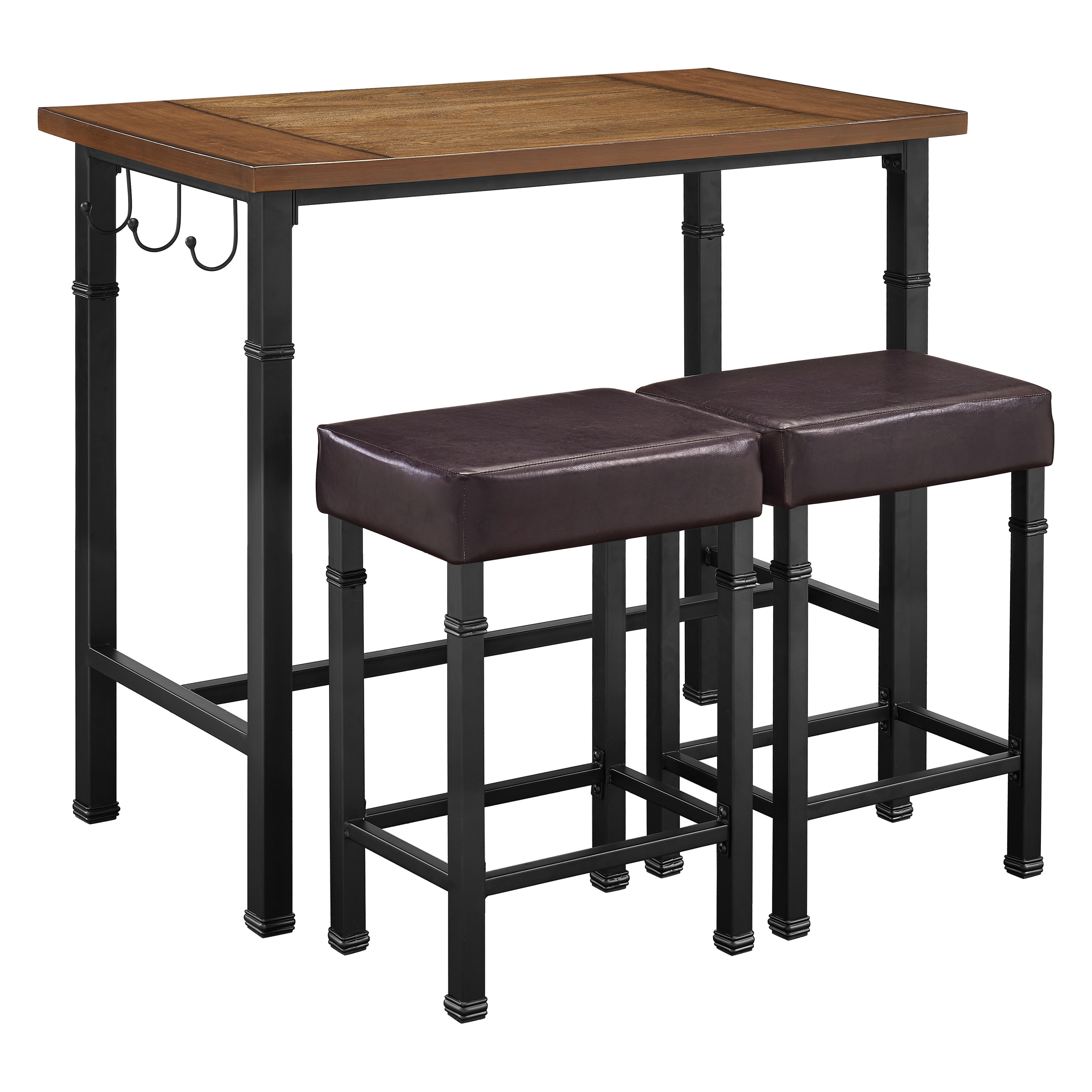 Linon Home Austin 3 Piece Pub Table Set Pub Tables