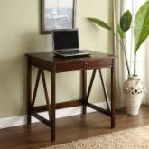  Linon Titian Laptop Desk - Antique Tobacco