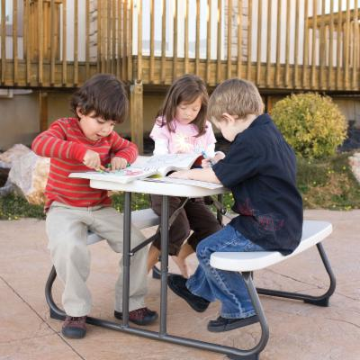 Lifetime Products Kids Folding Picnic Table - Putty