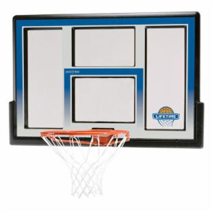 Lifetime 48 in. Fusion Acrylic Backboard Rim Combo
