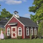 Little Cottage 8 x 12 Stratford Schoolhouse Wood Playhouse