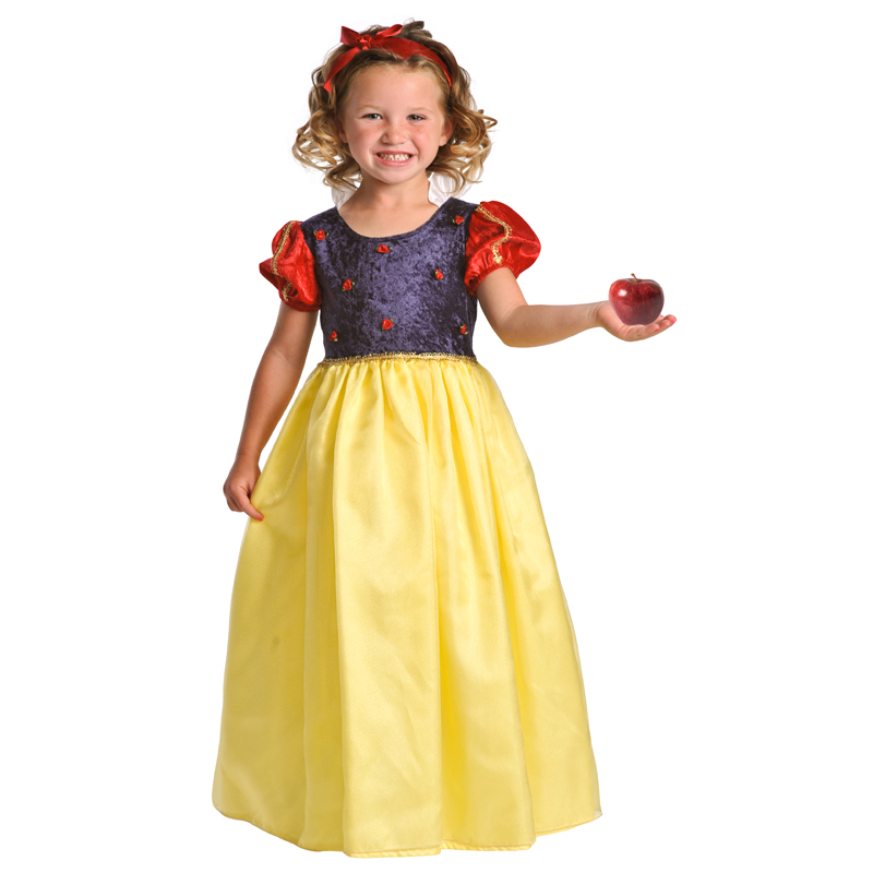 Little Adventures Deluxe Snow White Costume Pretend Play