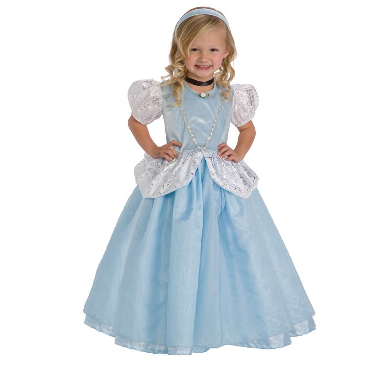Little Adventures Deluxe Cinderella Costume, Girl's, Size: Large LITL046-5