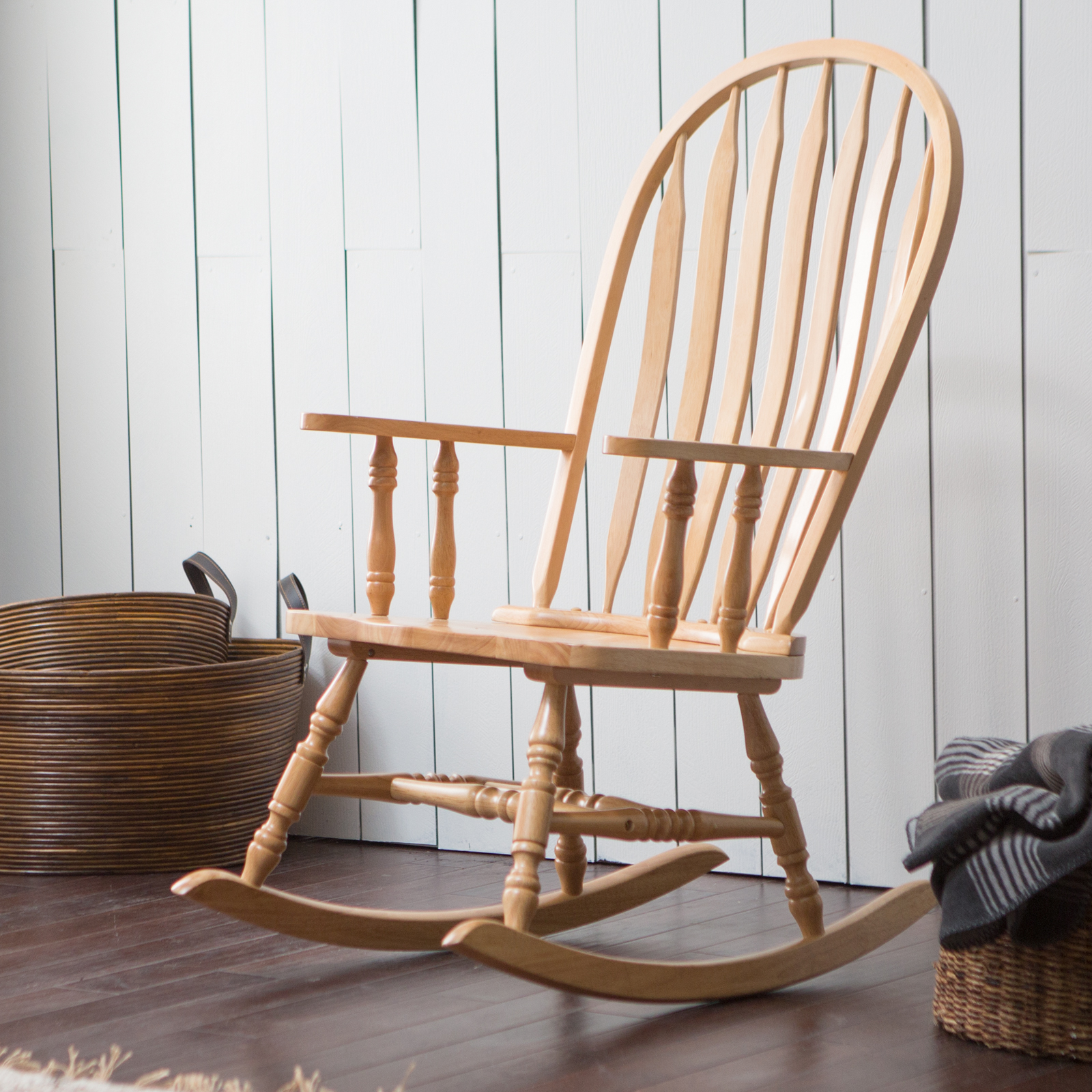 ... Indoor Wood Rocking Chair – Natural - Indoor Rocking Chairs at