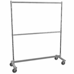 Lockwood Double Storage Steel Rolling Rack