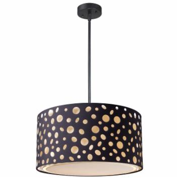  Landmark Lighting Enchantment Pendant - 16W in. Matte Black
