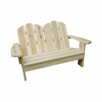 Kids Adirondack Bench - Natural