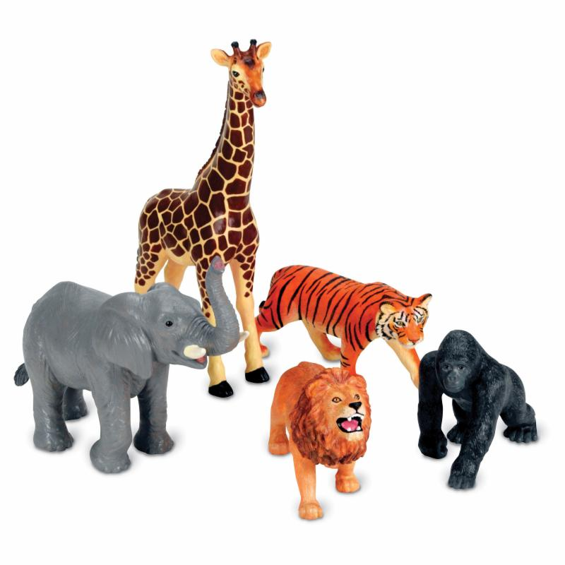 Learning Resources Jumbo Jungle Animals LRE123-1