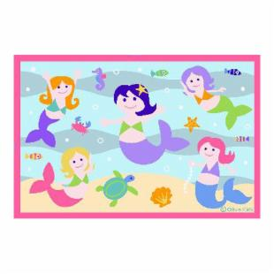 Olive Kids Mermaids Rug