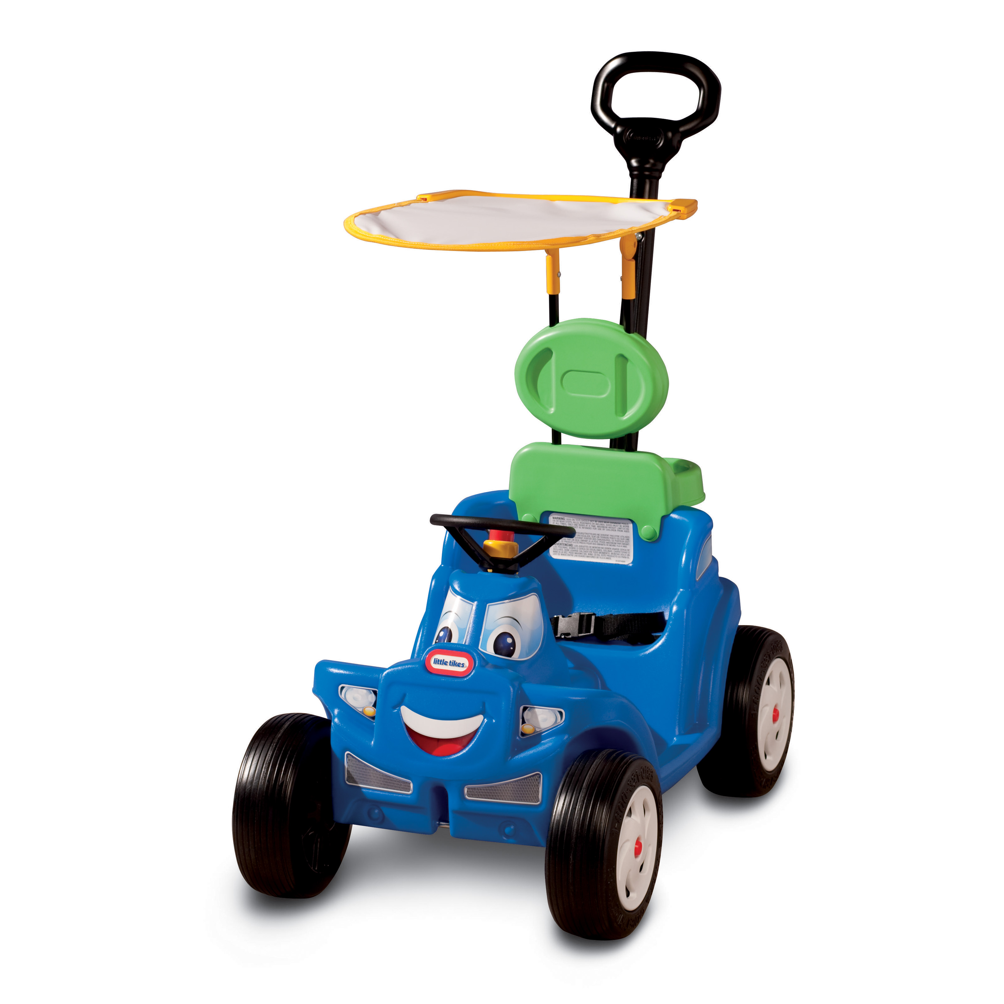 Little Tikes Deluxe 2 In 1 Cozy Roadster Car Riding Push