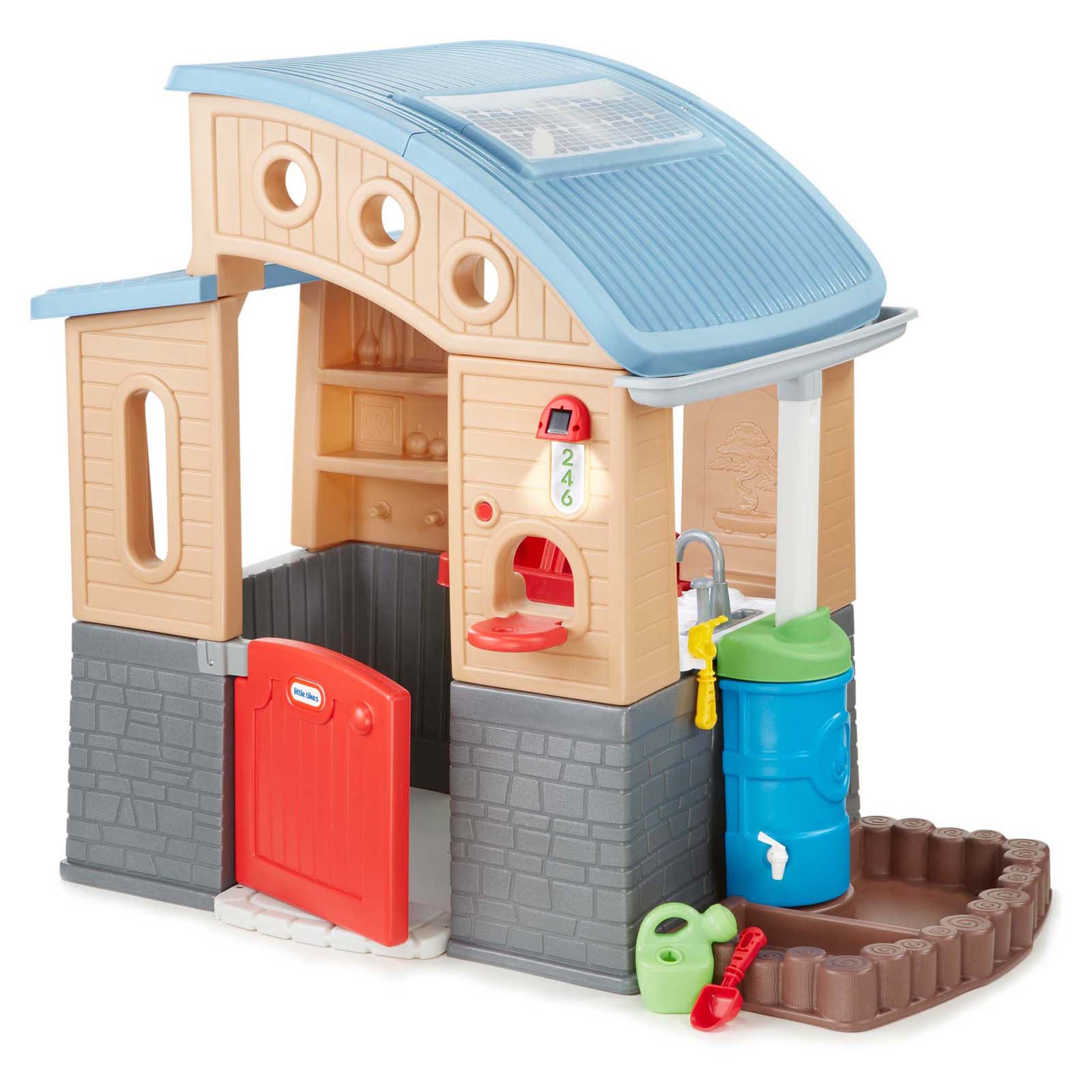 Little Tikes Go Green Playhouse Indoor Playhouses At Hayneedle