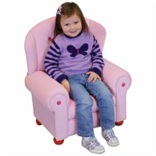 Kids Arm Chair - Pink