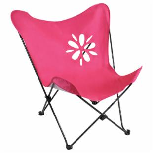 Kids Butterfly Chair - Pink Cutout