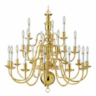 Livex Beacon Hill 5321 Chandelier - 42W in.