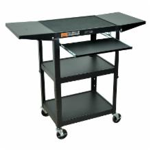  Luxor Adjustable Height Drop Leaf Computer Cart
